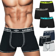 Stock 3 paia BOXER uomo UMBRO pack mutande cotone elasticizzato TOOCOOL 714-716