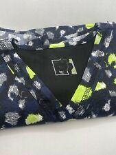 Easy Fit Scrub Top - Pattern - Xs - Good Condition