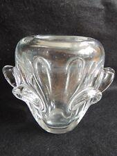 Beau vase en cristal de VAL SAINT LAMBERT par Guido Bon années 1950