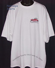 Official FLW Outdoors T-SHIRT SHORT-SLEEVE Fishing 2-Side Print WHITE NWOT (3XL)