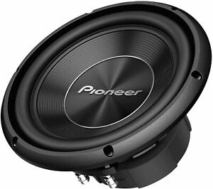 """New Pioneer A-Series TS-A250D4 1300 Watts 10"""" Dual 4 Ohm Car Subwoofer Sub"""