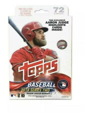 2018 Topps Series 2 Hanger Box - Acuna Bat Down? 72 Cards Total in Hanger Box