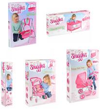 CHILDREN PUSHCHAIR DELUXE BUGGY BABY PRAM DOLL COT STROLLER KIDS GREAT FUN TOY