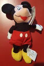 Walt Disney Mickey Mouse Mini Bean Bag Beanie NWT Red Shorts