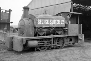 PHOTO George Slater Ltd. Industrial Steam Loco 3 Markham&Co. 0-4-0 Beighton 1965