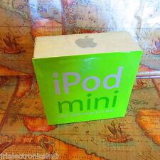 ~FACTORY SEALED~RARE~Apple iPod Mini Green 4GB~ORIGINAL BOX~