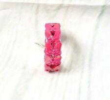 Disney Parks Minnie Mouse Pink Bow Stretch Bracelet Youth