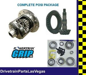 "Richmond Powertrax  Posi Pkg GM Chevrolet 8.5"" 8.6"" 30 Spline 4.10 Gears & Kit"