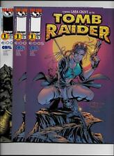 LOT OF 3 TOMB RAIDER #1 1999 NEAR MINT- 9.2 ALTERNATE COVER 8948