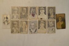 Cricket - Collectable - 1930's - Vintage Cricket Cards - Various x 12