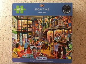 Gibsons 500 XL Piece Puzzle 'Story Time' Complete