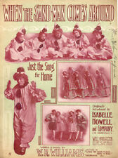 WHEN THE SAND MAN COMES AROUND Sheet Music-1909-ISABELLE HOWELL COMPANY