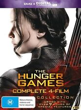 The Hunger Games 4 Film Complete Collection BRAND NEW SEALED R4 DVD