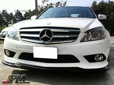 For 2008-2011 W204 C300 C350 Sports Only Godhand Carbon Fiber Front Add-On Lip