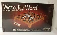 A Vintage Action Crossword Game, WORD FOR WORD, Invicta Games 1979,NEW