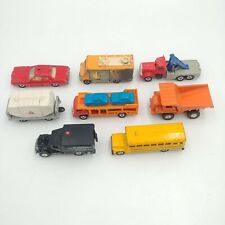 Tomica/Tomy Lot of 8 Vintage Die Cast Cars and Trucks - Made in Japan