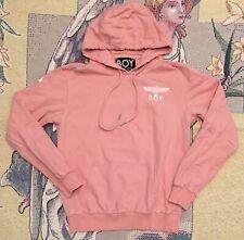 Boy London Pullover Hoodie Pink Size Medium