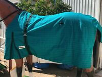 Black Lime Woof Wear Ergonomic Colour Fusion Horse Healthcare Fly Veil