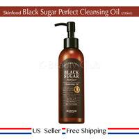 Skinfood Black Sugar Perfect Cleansing Oil 200ml + Free Sample [ US Seller ]