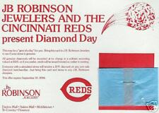 CINCINNATI REDS AUTHENTIC ISSUED DIAMOND DAY GIVEAWAY