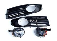 VW TOURAN 2003-2005  FOG LIGHTS LIGHT LAMPS & BUMPER GRILLES GRILL KIT  NEW