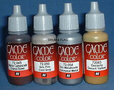 Vallejo Juego Color Paint-American Civil War Set #1 CS - 4 X 17ml botellas. DF49