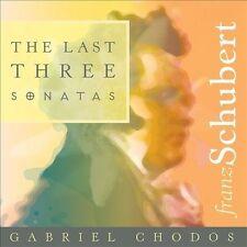 Last Three Sonatas by SCHUBERT,FRANZ