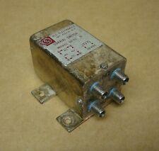 RLC Electronics RF Type C Transfer Coaxial Switch Model SR-TC-R-D HAM