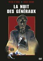 DVD : La nuit des généraux - GUERRE - NEUF
