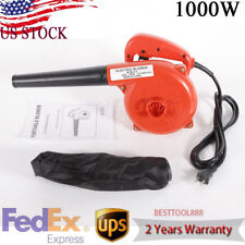 Electric Handheld Car Garden Dust Leaf Air Blower Computer Vacuum Cleaner 110V