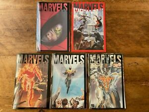Marvels #0 #1 #2 #3  #4 Marvel Comics 1994 (5 issues) Combine Shipping ^