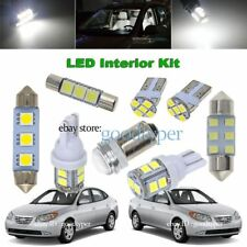 6x White LED Map Dome light interior package kit fit 2007-2010 Hyundai Elantra