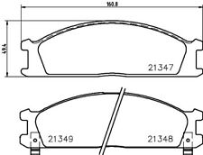 MDB1482 MINTEX FRONT BRAKE PAD SET BRAND NEW GENUINE 5 YEAR WARRANTY