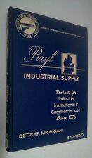 Vintage 1965 RAYL INDUSTRIAL SUPPLY Catalog #90 Detroit MI