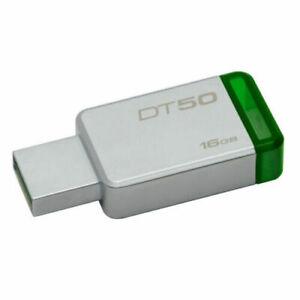 💯 Genuine Kingston USB Memory Stick  16GB  USB 3.1 Metal Flash Pen Drive