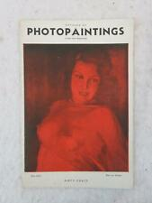 Catalog of Photopaintings 1936 Bonica Publishing Co., NY PIN-UP GIRLS
