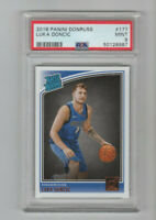 2018/19 Donruss Luka Doncic Rated Rookie Card #177 PSA 9 MINT! WOW! MVP?