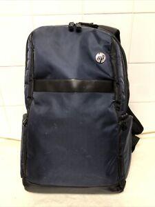 HP Dark Blue & Black Backpack Rucksack Laptop Bag