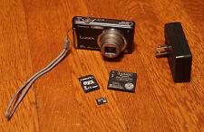 PANASONIC LUMIX DMC-FH25/16 MP DIGITAL CAMERA BLACK PreOwned