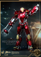 MARVEL HOT TOYS IRON MAN XXXV RED SNAPPER 1:6 SCALE ACTION FIGURE HOTPPS002