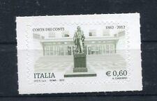 Italia 2012 Corte dei Conti MNH