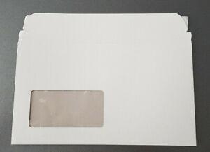 20 Stück CD-Mailer CD-Versandtasche selbstklebend mit Fenster, 220x125mm - NEU!