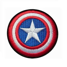 Écusson Brodé Thermocollant NEUF ( Patch Embroidered ) - Captain America Marvel