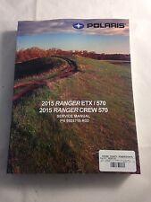 15 - 16 POLARIS RANGER 570 / 900 XP EPS / CREW SERVICE SHOP REPAIR MANUAL BOOK
