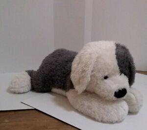 "Circo Old English Sheep Dog Giant Jumbo 33"" plush stuffed Gray White"