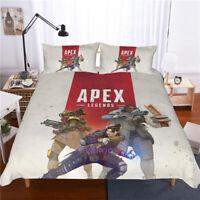 Queen Size Bed Quilt Doona Duvet Cover Set Bed Pillow Case APEX LEGENDS