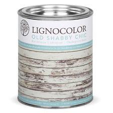 Lignocolor Kreidefarbe Shabby Chic Holz Möbellack Antiklook Farbe White wash