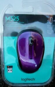Logitech Wireless Mouse M325 with Designed-for-Web Scrolling - Vivid Violet
