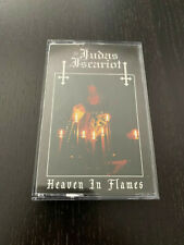 """JUDAS ISCARIOT- """"Heaven In Flames"""" Cassette Tape (Limited To 200 Copies)"""