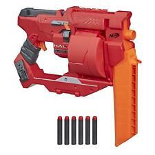 Nerf Halo Mangler Dart Blaster -- Pull-Back Priming Handle, Rotating 6-Dart